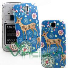 Cover copri batteria Cerbiatto per Samsung Galaxy S4 i9505 copribatteria cervo