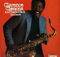 CLARENCE CLEMONS AND THE RED BANK ROCKERS rescue 25699 A1/B1 1st uk LP PS EX/EX