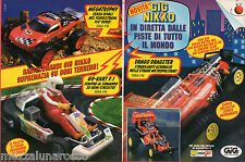 Pubblicità Advertising 1994 GIG NIKKO Go-kart F.1 e Drago Dragster