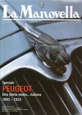LA MANOVELLA 10 1999 SPECIALE PEUGEOT, ITALA 65 SPORT