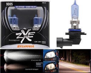 Sylvania Silverstar ZXE 9005 HB3 65W Two Bulbs Head Light High Beam Plug Play OE