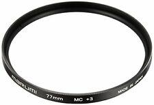 MARUMI Camera Filter Close-up Lens MC + 3 77mm For Close-up Shooting NEW
