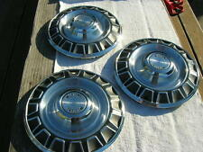 NOS 1970 FORD MUSTANG HUBCAPS HUB CAPS HUBCAP WHEEL COVERS ( 3 only )