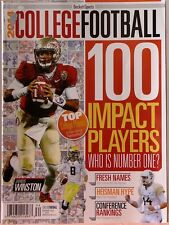 2014 COLLEGE FOOTBALL Magazine 100 IMPACT PLAYERS Top Players