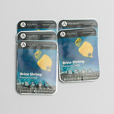 Brine Shrimp Eggs pre-measured for 500mL of water -5 packs - Live fish food
