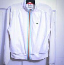 Lacoste Vintage Bomber Sweater Jacket Womens Size 38 Medium