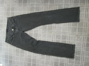 Levi's 504-LADIES JEANS denim trousers SIZE 10-12 STRAIGHT TWISTED LOW STRETCH