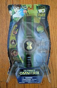 Ben 10 Ultimate Omnitrix Watch Lights Sounds 2008 Bandai NIB