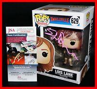 🔥 RARE Erica Durance Signed Autographed Lois Lane Smallville Funko POP JSA PSA