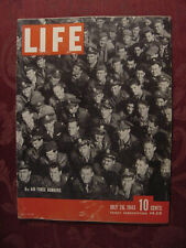 LIFE magazine July 26 1943 WWII Sicily Invasion Ingrid Bergman