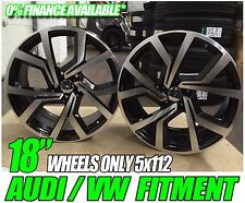 """x4 18"""" VW GOLF MK7 GTI ALLOY WHEELS CLUB SPORT BRECCIA MK6 MK5 PASSAT 5x112"""