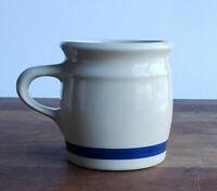 Hartstone Pottery mug classic blue band farmhouse style 10oz vintage 1978