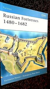 OSPREY FORTRESS #39: RUSSIAN FORTRESSES 1480-1682