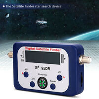 SF-95DR Digital Satellite Signal Meter Finder Dishnetwork DirecTV FTA Compass WT