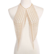 waist chain imitation necklace pearl body chain multilayer Long