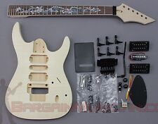 Bargain Musician - GK-027 - DIY Unfinished Project Luthier Guitar Kit