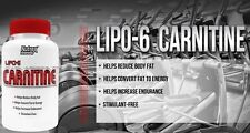 Nutrex Lipo 6 Carnitine 120 Caps Weight Loss Support
