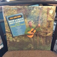 Eddy Arnold Folk Song Book LP VG+ In Shrink Top Hit The Young Land