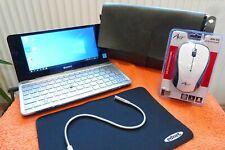 Sony Vaio VGN P11Z Sub Netbook l 8 Zoll  l Windows 10 l AKKU NEU I NUR 640 GRAMM