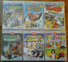 Lot de 6 jeux LEGO pour PC