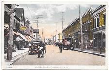 Postcard Woodbridge Avenue in Roosevelt, New Jersey~103989