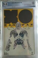 X-O Manowar #3 PGX 9.8 NM/MT 1:50 Retailer Incentive Variant Cover by David Mack