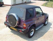 Suzuki Vitara Mk1 Soft Top,Car Hood, Black Pvc.