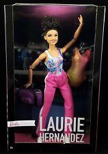2018 Barbie Laurie Hernandez Gymnast Made To Move Two Leotards Gym Bag Signature