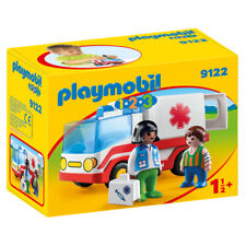 Playmobil 123 rescue ambulance 9122 New