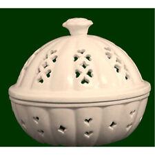 Royal Creamware Pot Pourri Large