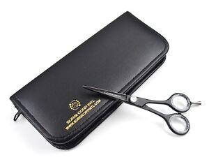 "Professional Hairdressing Scissors Barber Salon Haircutting Shears 5.5"" Black"