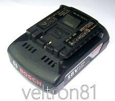 Batterie Originale Bosch Professionale GBA 18V 1,5Ah, GBA18V 1,5Ah, 2607336803