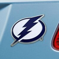 Tampa Bay Lightning Heavy Duty Metal 3-D Color Auto Emblem