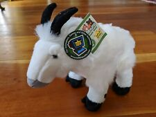 Wild Republic MOUNTAIN GOAT Plush Cuddlekins White Stuffed Animal NEW nwt
