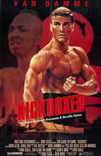 KICKBOXER Movie Promo POSTER Jean-Claude Van Damme Rochelle Ashana Dennis Chan