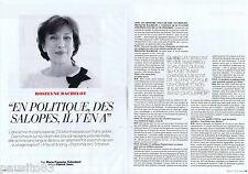 COUPURE DE PRESSE CLIPPING 2012 Roselyne Bachelot  (3 pages)