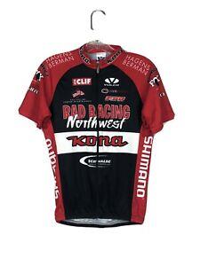 Voler Rad Racing Northwest Red Race Short Sleeve Cycling Jersey Sz S/M?