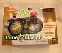 Nickelodeon Time Blaster AM/FM Digital Clock Radio