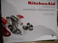 KitchenAid Stand Mixer Attachment Set #KSMGSSA NEW FREE SHIPPING 48 STATES