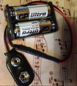 EMG 24v Active Pickup Mod Solderless EMG 81 85 60 89 57 66 SA- With Batteries