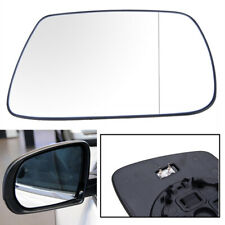 Right RH Rearview Mirror Glass w/ Heated Base For Jeep Grand Cherokee 2005-2010