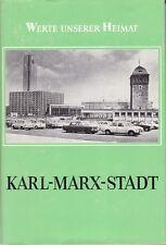 Werte unserer Heimat==Karl-Marx-Stadt/Band 33/1979/mit Karte *** Schutzumschlag!
