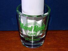 "HARD ROCK CAFE PHOENIX 2004 St. Patrick's Day SHOT GLASS 2.25"" - New Special Ed"