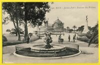 CPA France NICE (Alpes Maritimes) Jardin Public FONTAINE des TRITTONS avec Faute