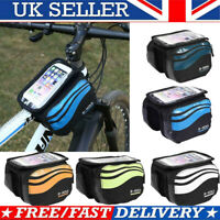Outdoor Bicycle Cycling Mountain Bike Frame Front Tube Pannier Saddle Pouch Bag