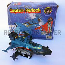 Vintage Robot CAPITAN HARLOCK - Arcadia - Captain Herlock Albator Die-Cast 1978