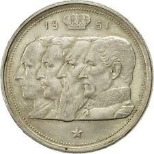 [#481180] Belgique, 100 Francs, 100 Frank, 1951, SUP, Argent, KM:139.1