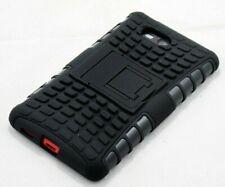 For Nokia Lumia 820 Black Strong Tough Durable Tradesman TPU Case Cover Stand