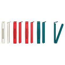 BEVARA Sealing Clip Mixed Colours For Freezer Bags, Confectionery Doritos Snacks