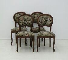5380D-Biedermeierstil-Sessel-Polsterstuhl-4er Satz-Stuhl-Biedermeierstilsessel-